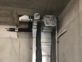 Control de calidad de aire interno durante la construcción